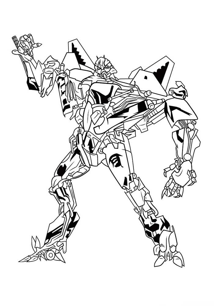 Раскраски для мальчиков Трансформеры распечатать бесплатно