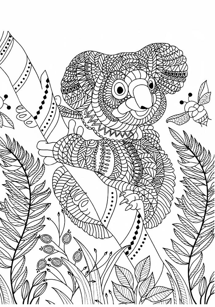 Раскраски от стресса для детей