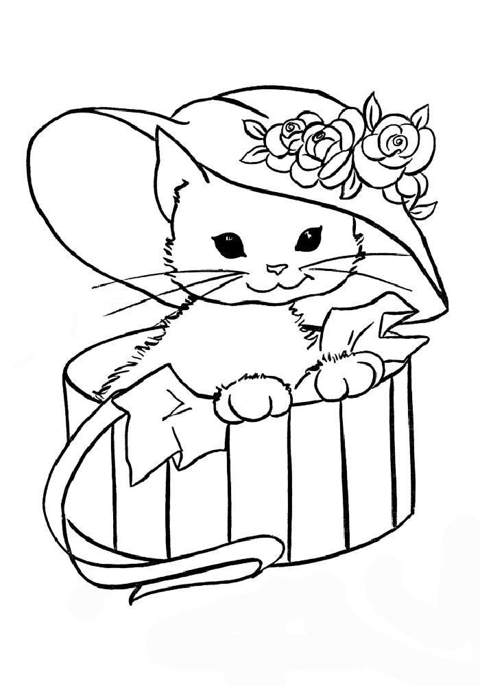 Раскраски онлайн для девочек животные