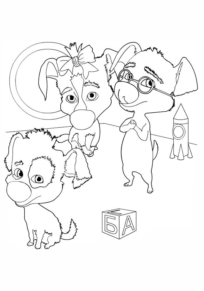 Раскраски для мальчиков распечатать бесплатно формат а4 - 6