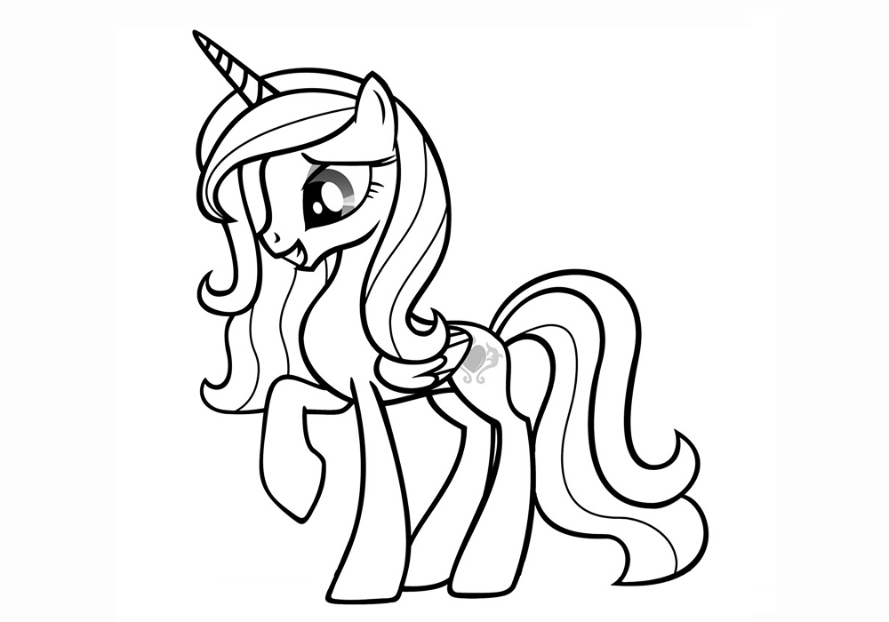 Princess cadence free coloring pages on art coloring pages