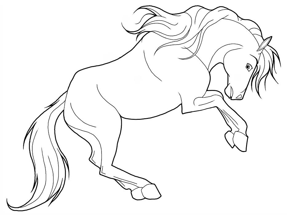 противном распечатать изображение коня всегда была