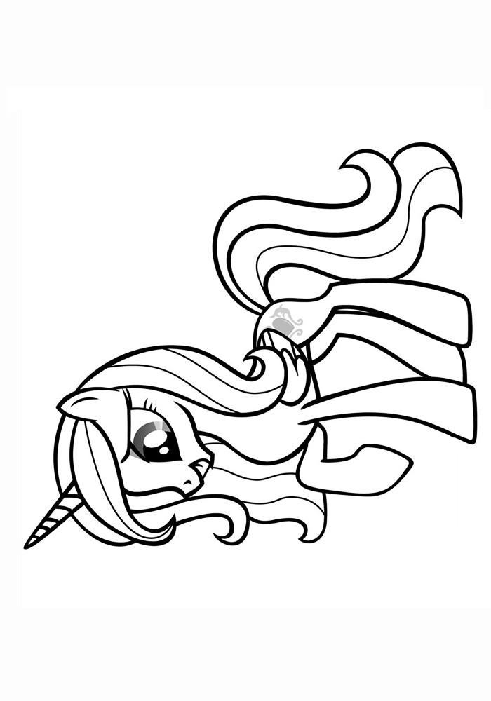 раскраски пони принцесса каденс