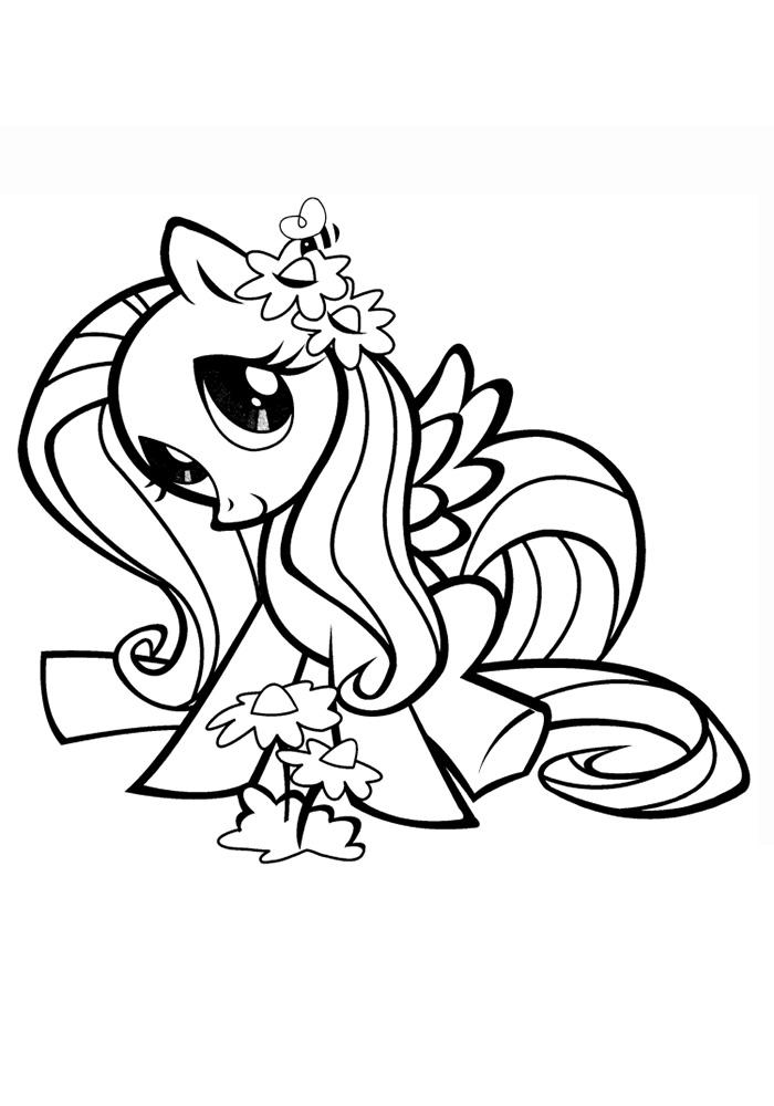 малитал пони раскраски скачать